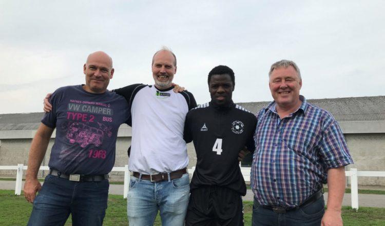 Silas Songani i FC Sydvest 05 Tønder