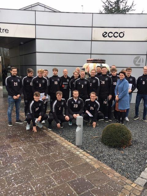 ECCO forlænger aftale med FC Sydvest 05 Tønder