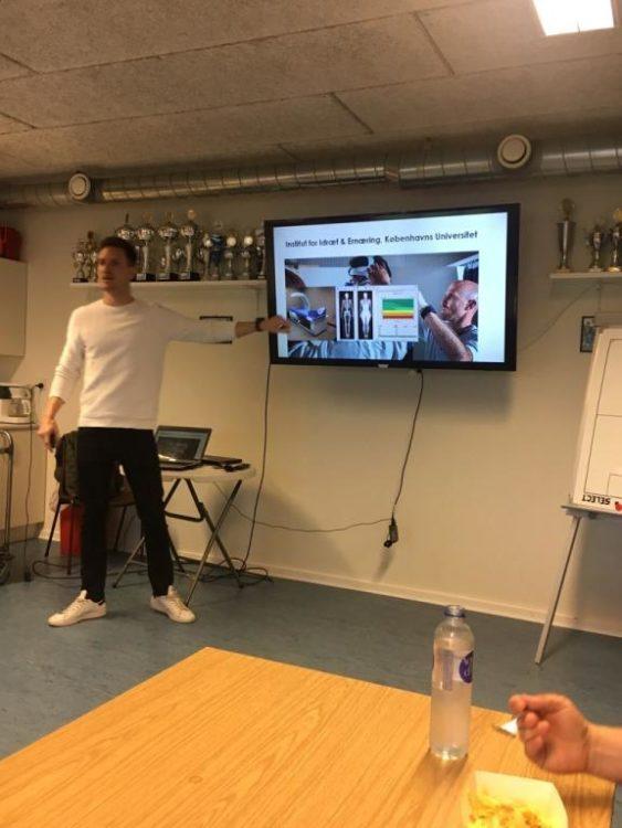 Ernæringsråd til spillerne fra  Lars Christensen, forsker og ernæringsekspert