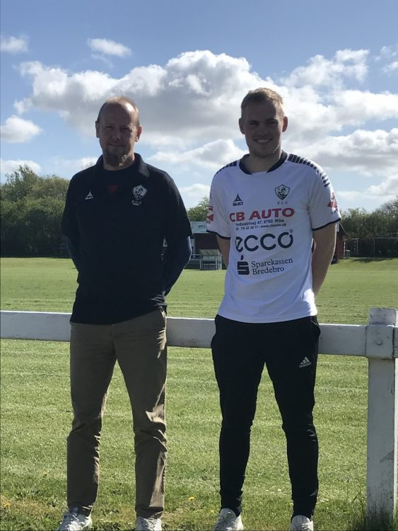 Marten van Ittersum er tilbage i FC Sydvest 05 Tønder