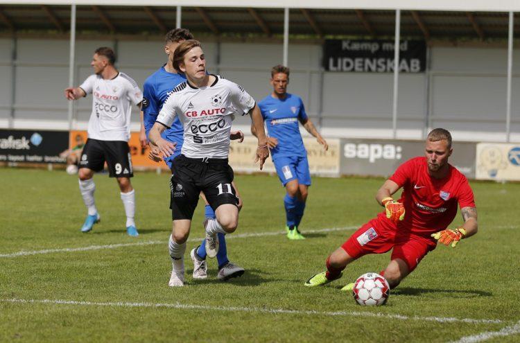 FC Sydvest 05 Tønder tabte til en bedre modstander