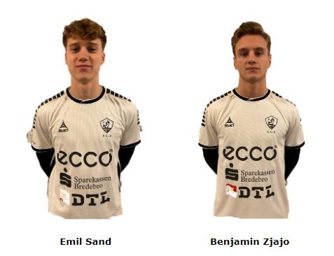 FC Sydvest 05 Tønder styrker truppen med tilgang af to lovende talenter, Emil Sand og Benjamin Zjajo fra Kolding IF