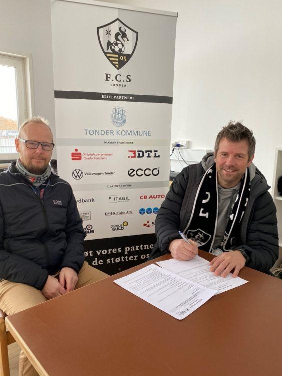 FC Sydvest 05 Tønder forlænger aftalen med Jes Bekke