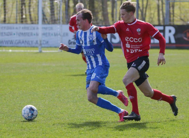 FC Sydvest 05 Tønder kom i menneskehænder i Thisted