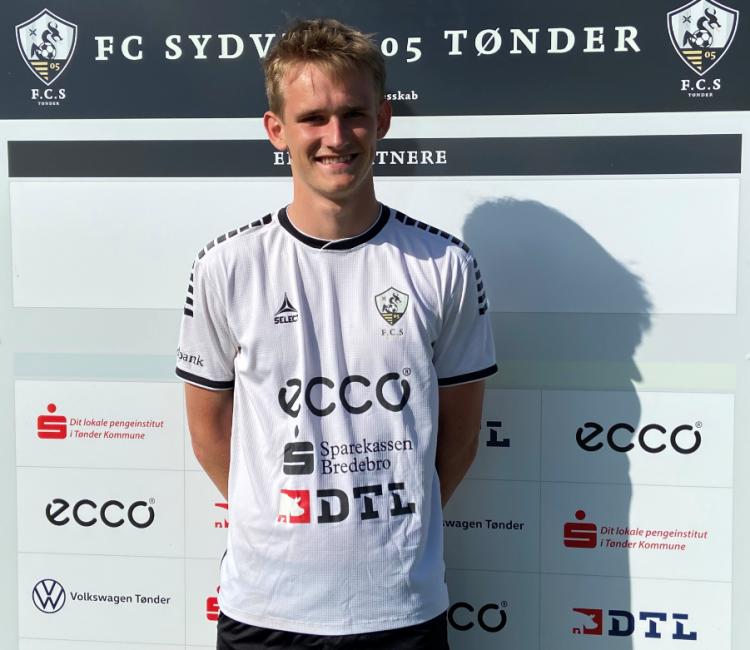 Ungt talent skifer fra Sønderjyske til FC Sydvest 05 Tønder