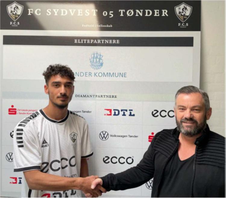FC sydvest 05 Tønder indgår aftale med Ajvaz Redzepi