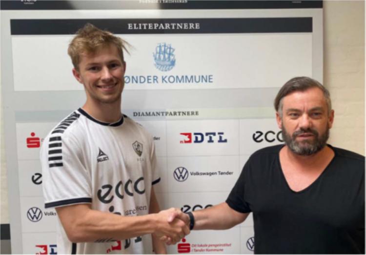 FC sydvest 05 Tønder indgår aftale med Morten Møllvang Snabe