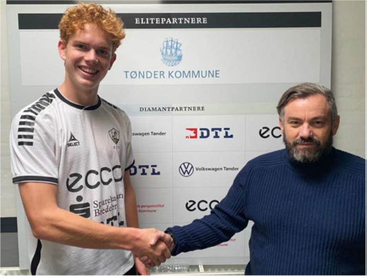 FC Sydvest 05 Tønder indgår aftale med Villads Møller